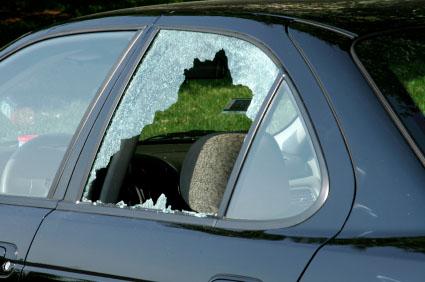 Broken Car Window San Antonio